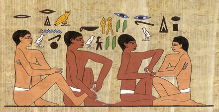 Reflexology in Ancient Egypt